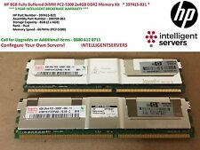 HP 8 GB completamente buffered DIMM PC2-5300 2x4GB KIT MEMORIA DDR2 * 397415-B21 *