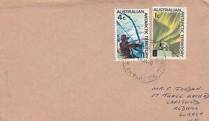 Polarpost  -  Australische Antarktis  8 + 10  Beleg