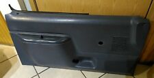 FORD TRUCK DOOR PANEL BLUE DRIVER SIDE NON POWER OEM 1987-1991