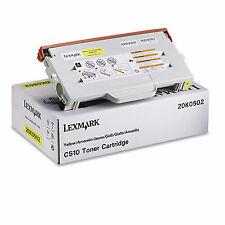 original Lexmark Toner 20K0502 OPTRA C510 C 510 gelb 3000 S. A-Ware