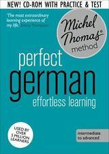 Perfect German : Efforless Learning (2014, CD, Revised, Unabridged)