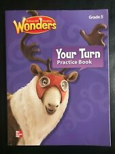 McGraw-Hill Reading Wonders Your Turn Practice Book  Grade 5 CCSS