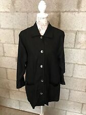 Giancarlo Ferrari Black Women's Top Blouse (H1)