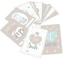 Baby Milestone Cards - Baby Shower Keepsake, Unisex New Baby Gift - pack of 20