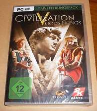 Pc game jeu-, Civilization v 5-Gods + Kings-erweiterungspack-NEUF emballage d'origine