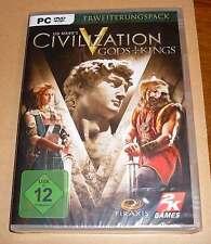 PC Game Spiel - Civilization V 5 - Gods + Kings - Erweiterungspack - Neu OVP