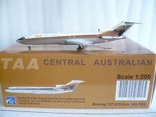 JC Wings 200 Trans Australia B727-200, Reg.#VH-TBK, 1:200 Gemini Scale Very Rare