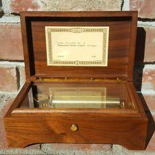 Reuge Music Box CH3/72, Piano Concerto No.21,Elvira,Mozart,3 parts
