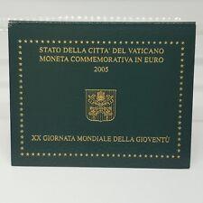 VATICANO 2 EUROS 2005 - AÑO MUNDIAL DE LA JUVENTUD EN COLONIA