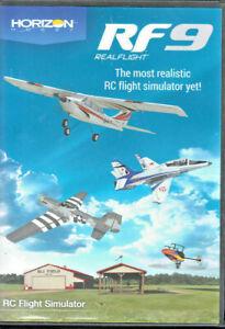 RealFlight RF8  & RF9 Horizon Hobby Edition Flight Simulator