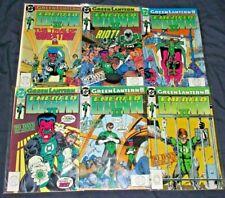 GREEN LANTERN EMERALD DAWN II #1-6 (NM-) Full Set! Hal Jordan DC 1991 Sinestro