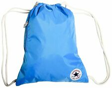 CONVERSE CTAS CINCH GYM SCHOOL BAG BACKPACK SPRAY PAINT BLUE 13634C 434