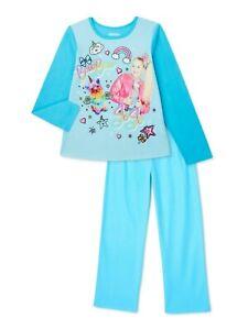 JOJO SIWA Basic Fleece Pajamas Sleepwear Girls Size 4-5, 6-6X, 7-8 or 10-12 NWT