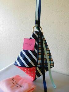 New Kate Spade Skye Kite Patchwork Wristlet Handbag Bag