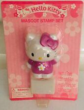 Hello Kitty Sanrio Mascot Stamp Set 2005 Pink Ink New