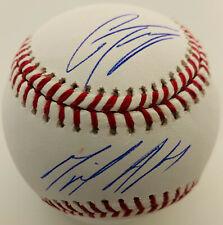 NY Yankees Miguel Andujar and Gleyber Torres Signed Baseball - Beckett BAS COA