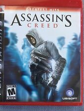 Assassins Creed Playstation 3 Game Rated M For Mature Pre-Owned Good Condition!