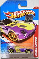 HOT WHEELS 2011 THRILL RACERS - HIGHWAY NERVE HAMMER #5/6 PURPLE FACTORY SEALED