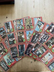 STAR WARS VINTAGE 1977 2ND SERIES FULL SET GUM CARDS LUKE SKYWALKER  DARTH VADER
