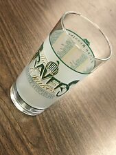 Vintage 2002 Travers Stakes Saratoga Race Track Horse Racing Glass Cup Souvenir