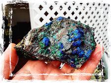 .75lb Tucson Show Cuprite Malachite Chrysocolla Rough Slab Piece Morenci AZ