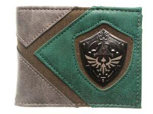 Legend of Zelda Hylian Shield Logo Bi-Fold Wallet