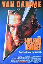 Kinoplakat Hard Target Poster Kunstdruck Bild 90x59cm