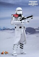 "Sideshow Hot Toys 12"" MMS322 Star Wars First Order Snowtrooper Officer Figure"