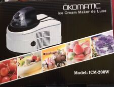 Eismaschine Ice Cream Maker DeLuxe Softeis 🍦neuwertig