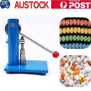 Hand Press Kit 10mm Manual Punch Machine for Laboratory Using AU Stock