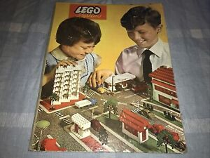 1960s Lego System Play Board