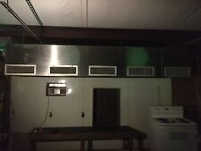12x4x2 Vent-A-hood Commercial Restaurant Kitchen Stainless Steel Used