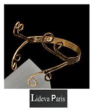 Armband Hohe Arm- Manchette Vergoldet Kleopatra Umarm Armkette Paris Armbinde