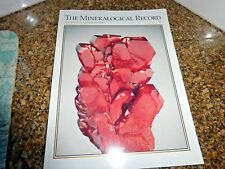 The Mineralogical Record May-June 2013 Vol 44 Mibladen, Morocco