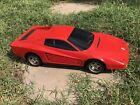 🏎 Used RC Nikko 1:10 1986 Super Ferrari Testarossa For Parts/Resto/Repair 🏎
