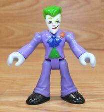 "Genuine DC Comics (s12) Imaginext 3"" The Joker Action Figure Toy **READ**"