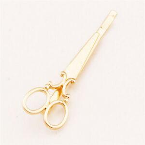 1Pc Scissors Shape Hair Clip Silver / Gold Hair Pin Women Accessory