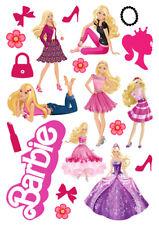 Barbie Casa De Ensueño caracteres Conjunto De Decoración Glaseado Oblea Edible Cake Topper