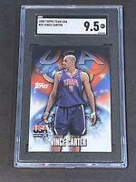 2000 Topps Team USA #55 Vince Carter SGC 9.5 LOW POP