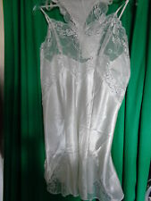 2-Piece Bridal Set; negligee sz. 40/42 with Thong Ivory from Jolidon NEW