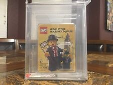 LEGO LESTER LEICESTER SQUARE AFA 9.0 RARER THAN MR. GOLD 174/275 EXTREMELY RARE!