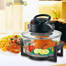 Digital Electric Air Fryer Oil-Less Griller Roaster Calorie Reducer 17 Quart US