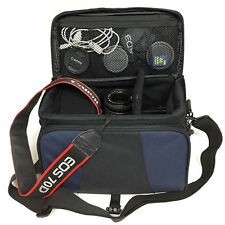 Professional Padded VIDEO PHOTO CAMERA CASE Nikon Canon Sony JVC SLR DSLR TLR