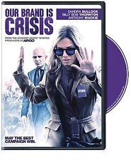 Our Brand Is Crisis (DVD, 2016, Widescreen) Billy Bob Thornton, Sandra Bullock