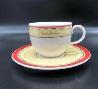 Villeroy & Boch Andre Rieu: Kaffeetasse / Tasse mit Unterteller