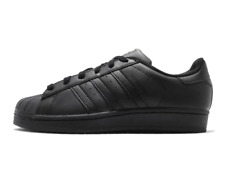 New adidas Superstar Foundation Mens SNEAKERS Af5666 Triple Black Retro