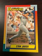 1990 Topps Traded Stan Javier Los Angeles Dodgers 47T