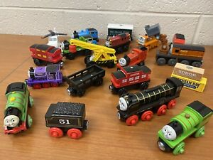 Thomas the Train and Friends Train Lot - Mostly Wooden / Magnetic