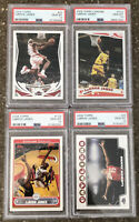 2004,05,06,08 Topps/Topps Chrome LeBron James Set ALL PSA 10 GEM MINT