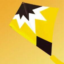 Diamond Starburst Stunt Kite (yellow) from Gkites - Sale Price! Bag & Tail.